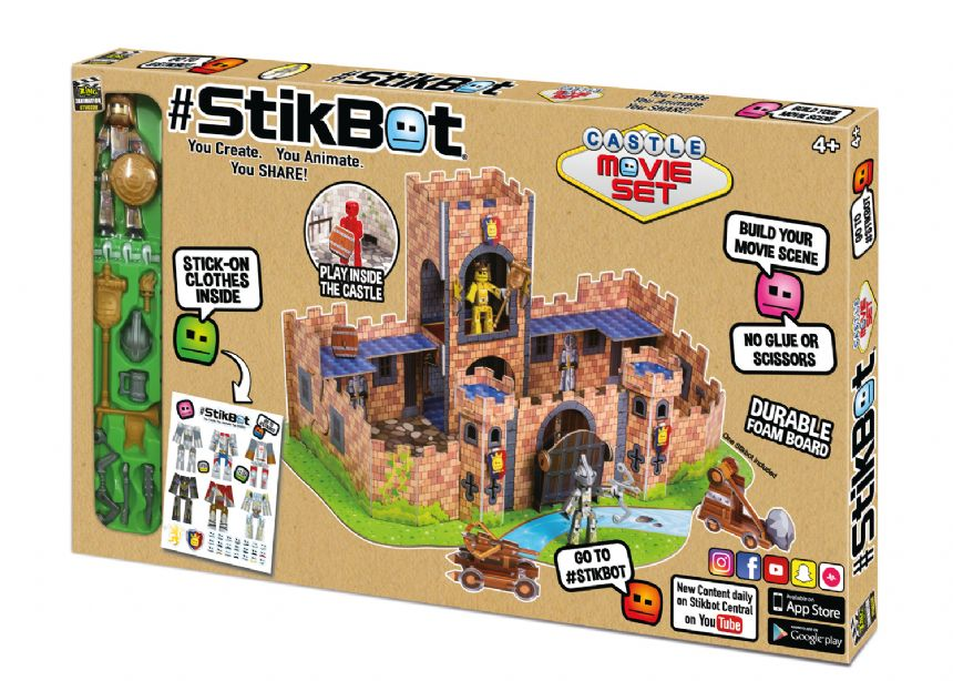 Stop Motion Animation App Toy StikBot Pirate Movie Set