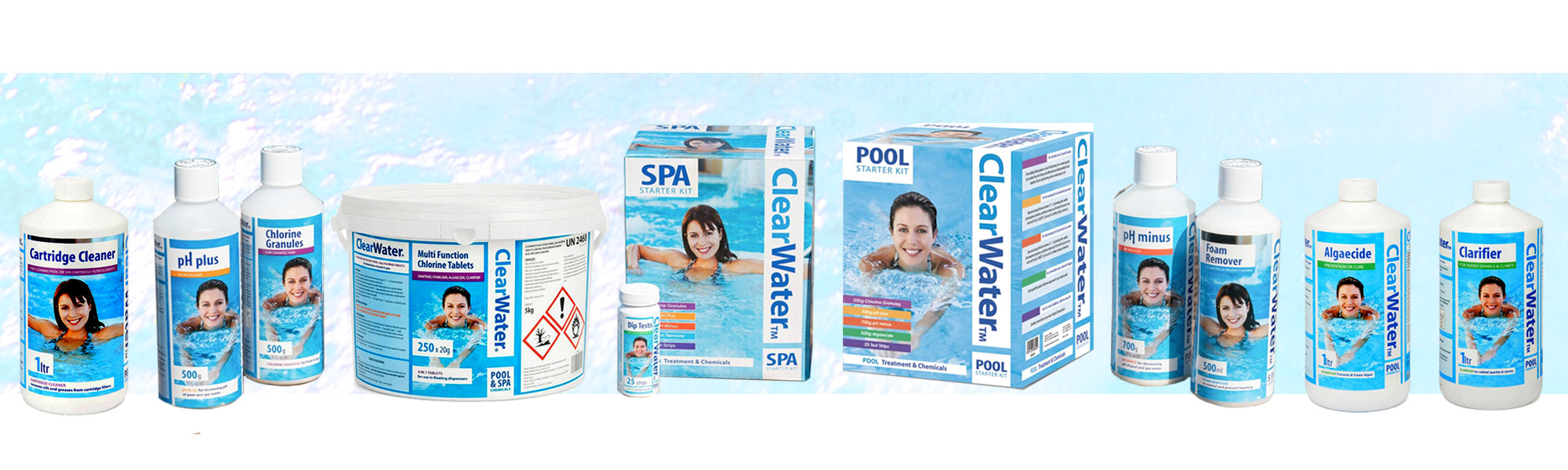 Clearwater Pool and Spa chemicals