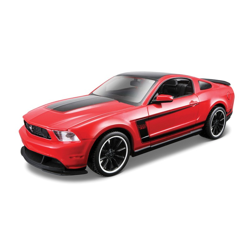 Build Your Own Mustang >> Maisto 1 24 Build Your Own Diecast Special Edition Ford Mustang Boss