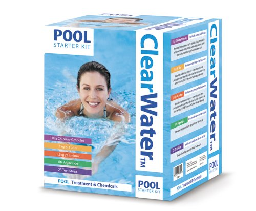 Clearwater Pool Chemical Cleaner Starter Kit For Swimming